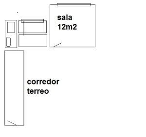sala area e corredor