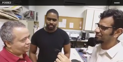 entrevista luiz mario na posse no sindipetro-RJ